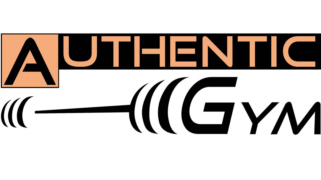 logo Authentic Gym fond blanc